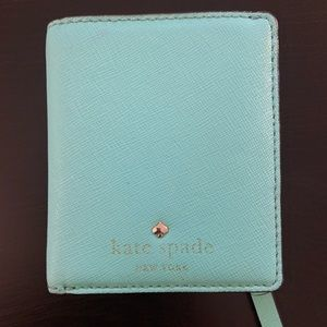 Kate Spade Small Stacy Wallet Teal (Fresh Air)